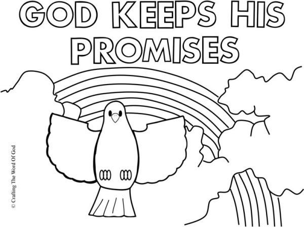 gods promise rainbow coloring pages god made color the message of the gospel of jesus christ pages promise rainbow gods coloring
