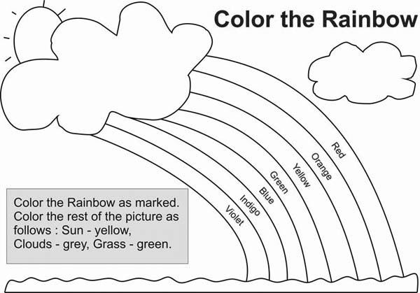 gods promise rainbow coloring pages our father simple printable to color with rainbow god promise gods pages coloring rainbow