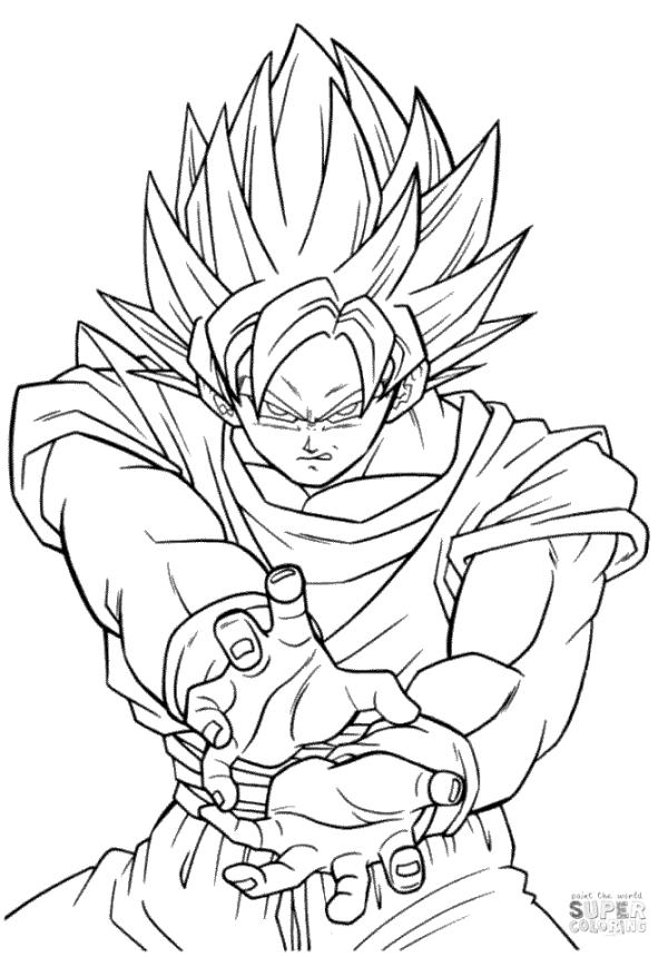 goku super saiyan coloring pages 50 best super saiyan goku coloring pages images on pages saiyan coloring super goku
