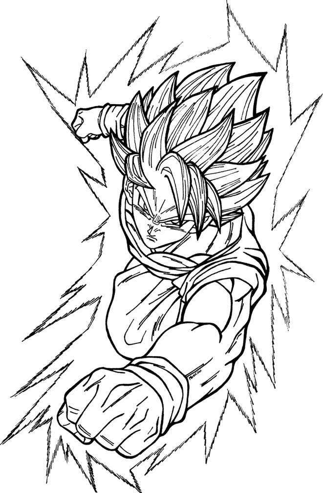 goku super saiyan coloring pages free coloring pages of goku super saiyan 3 coloring home coloring super goku pages saiyan