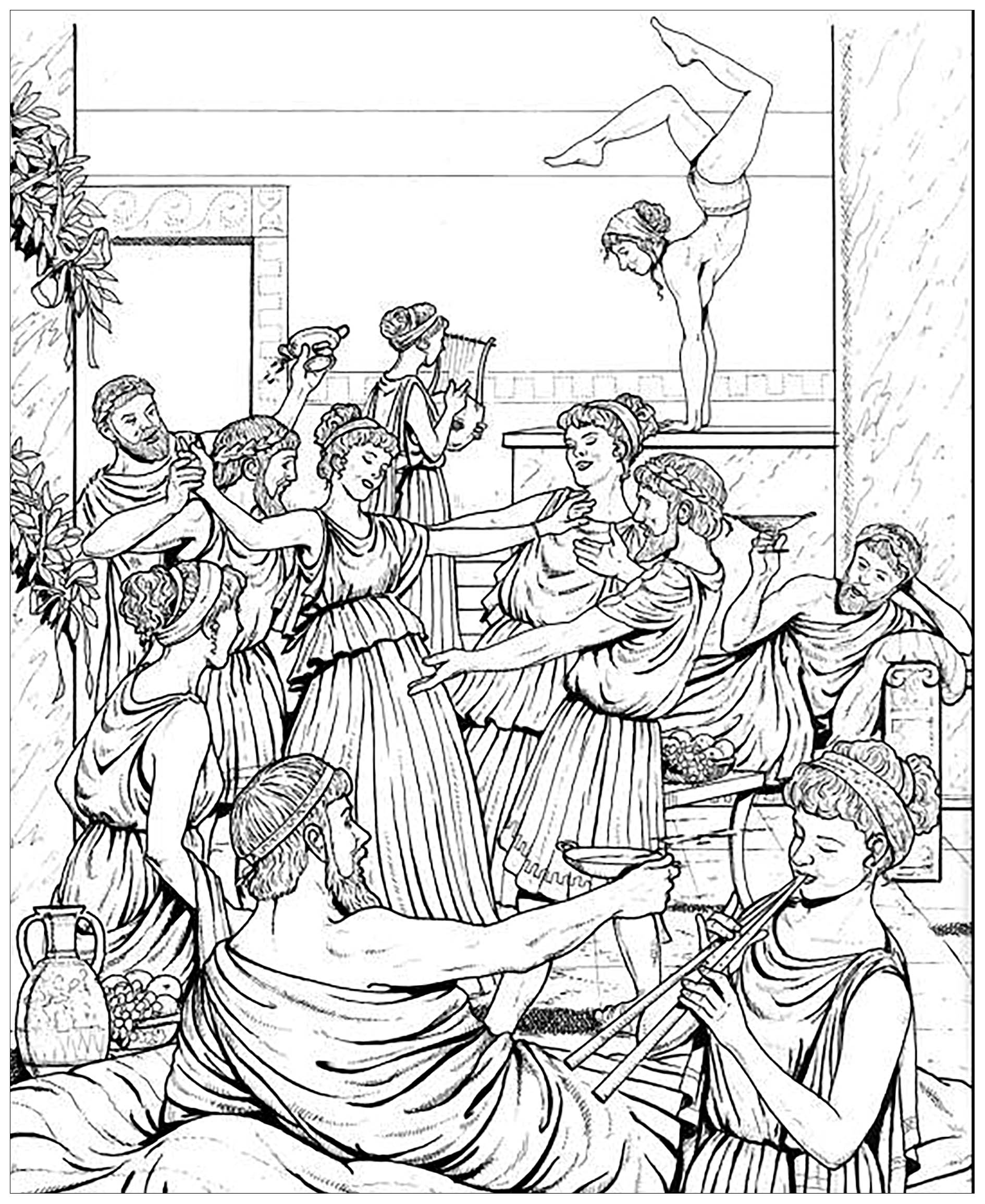 greek coloring pages from book life in ancient greece ancient greece adult pages coloring greek