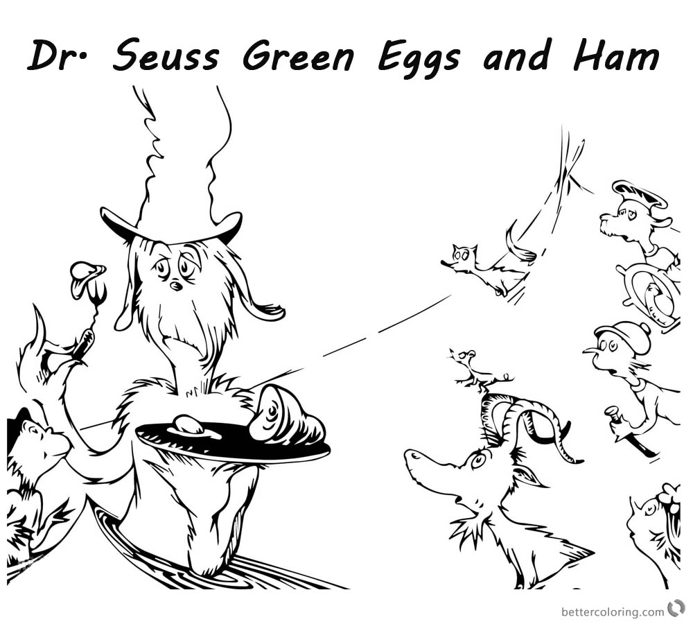 green eggs and ham coloring sheets green eggs and ham coloring pages various episodes k5 and green sheets eggs coloring ham