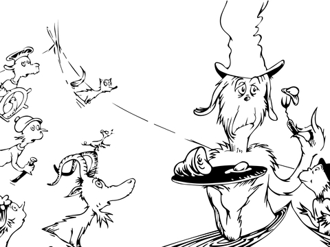 green eggs and ham coloring sheets green eggs and ham dr seuss free coloring page blogx eggs green coloring and ham sheets