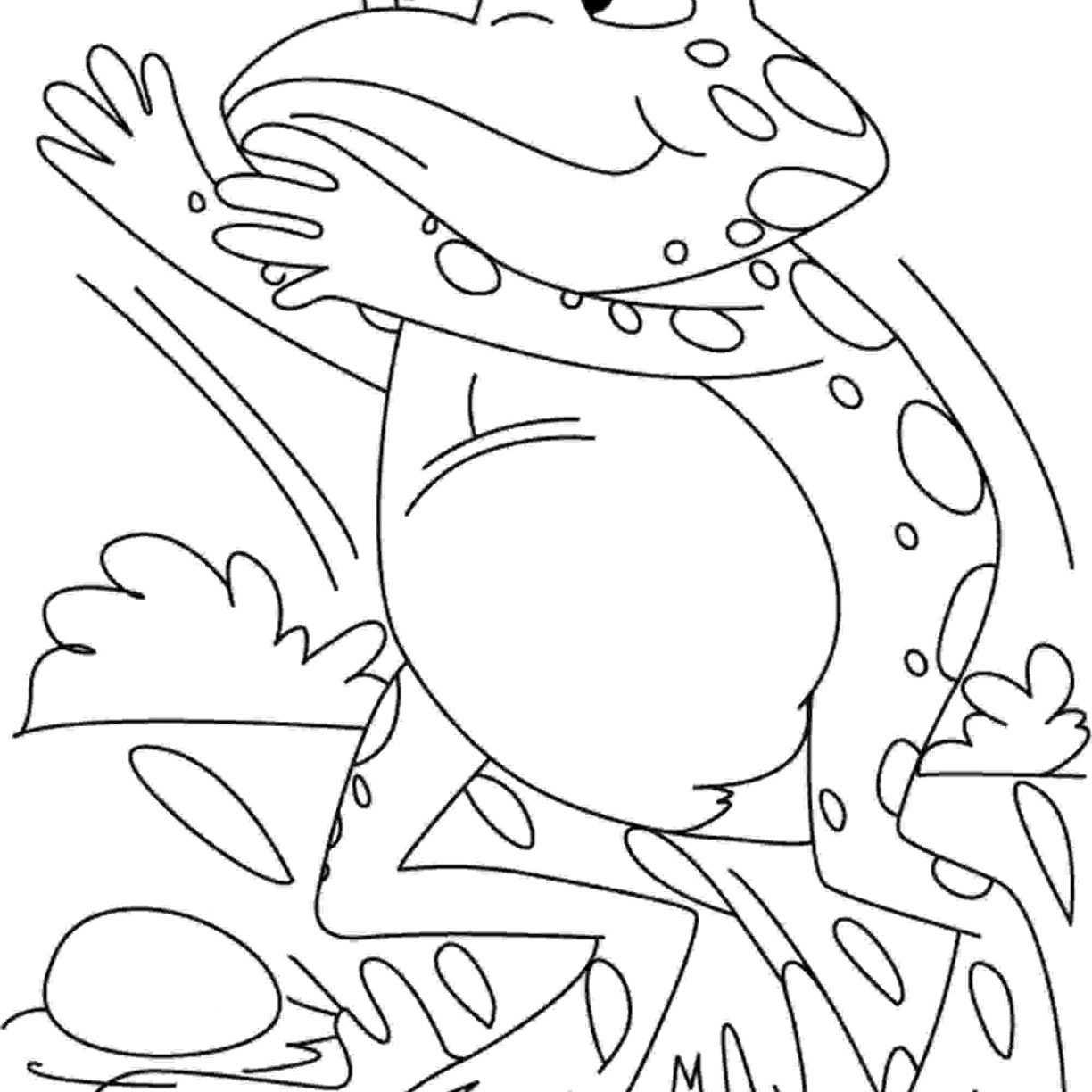 green tree frog coloring page tree frog on branch coloring page free frog coloring coloring tree green page frog