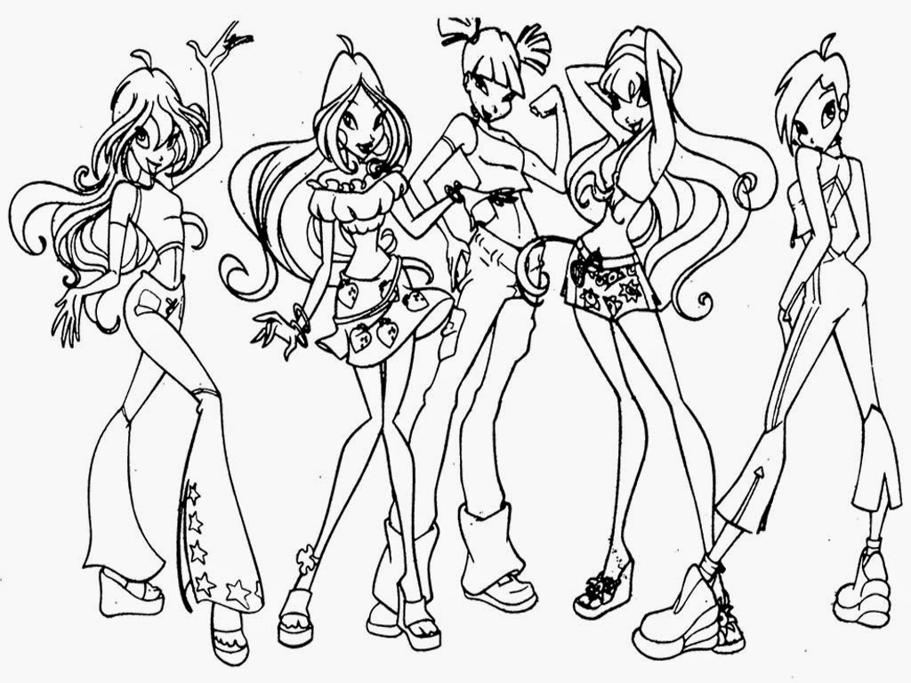 group of girls coloring pages bleach school group lineart by annamae2243 on deviantart girls of group pages coloring