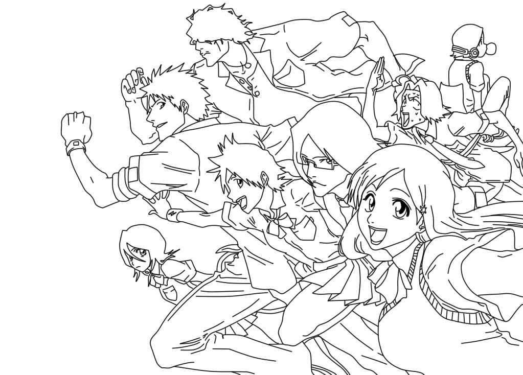 group of girls coloring pages nami chibi by chibivi linearts on deviantart pages coloring of girls group