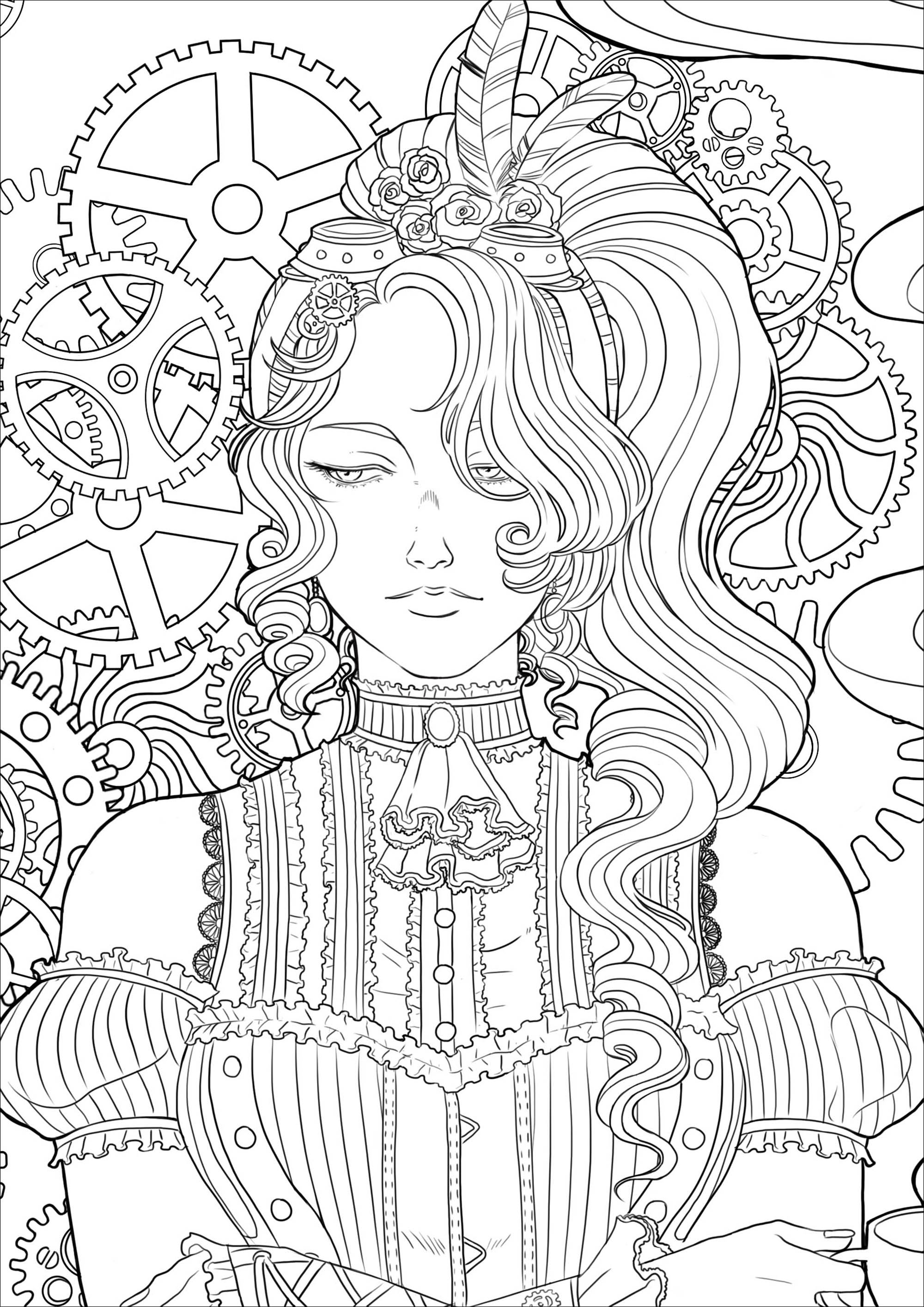 group of girls coloring pages she wanted to empower young girls so she made this of pages coloring group girls