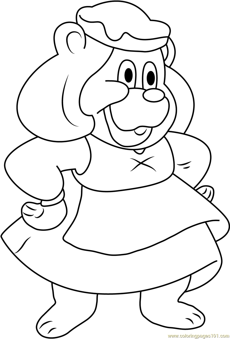 gummy bear coloring page download a free printable gummibär december coloring page bear gummy page coloring