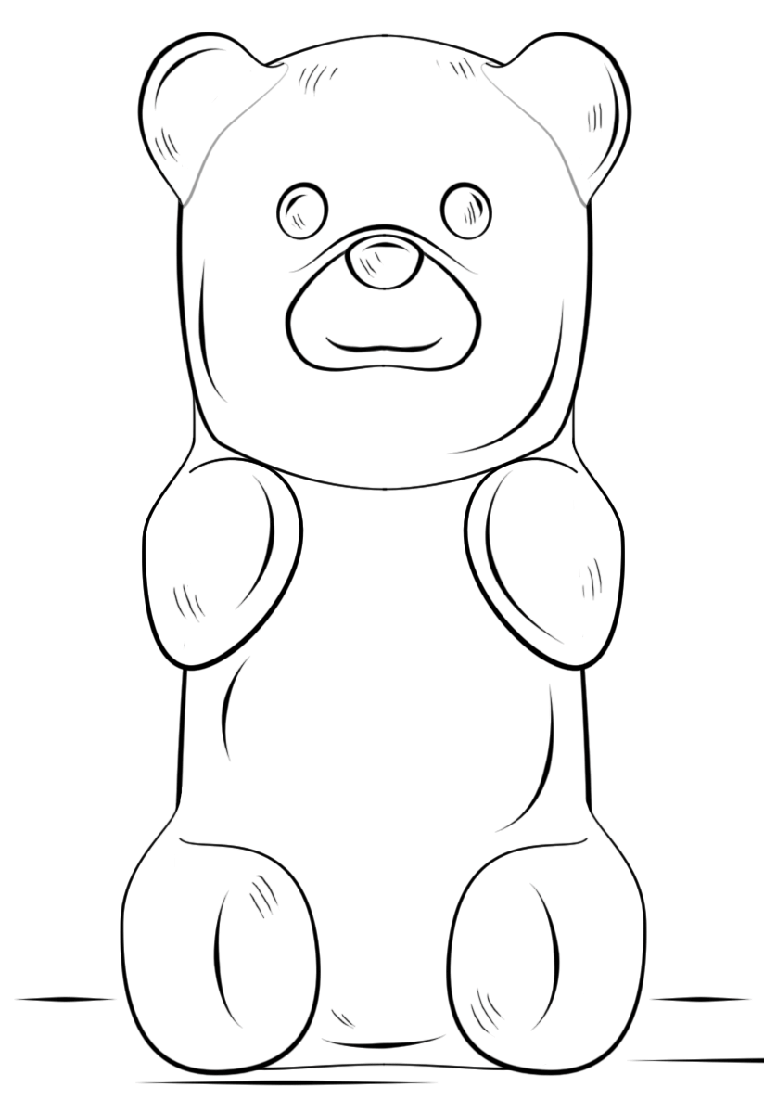 gummy bear coloring page gummi bears coloring pages coloring pages to download page bear gummy coloring
