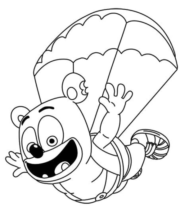 gummy bear coloring page gummi bears coloring pages download and print gummi bears coloring bear gummy page