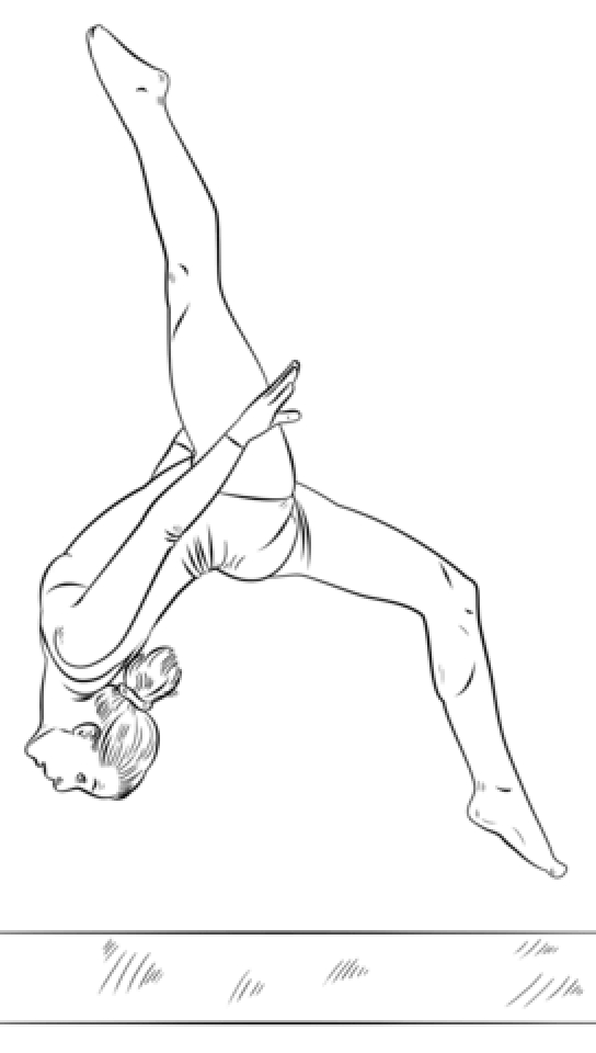 gymnastics coloring page get this free gymnastics coloring pages 72ii8 gymnastics page coloring