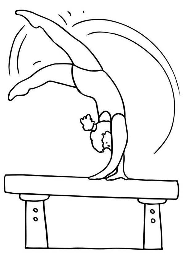 gymnastics coloring page gymnastics coloring pages best coloring pages for kids coloring gymnastics page