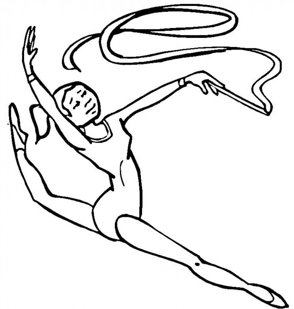 gymnastics coloring page olympic girl39s gymnastics coloring page woo jr kids gymnastics coloring page