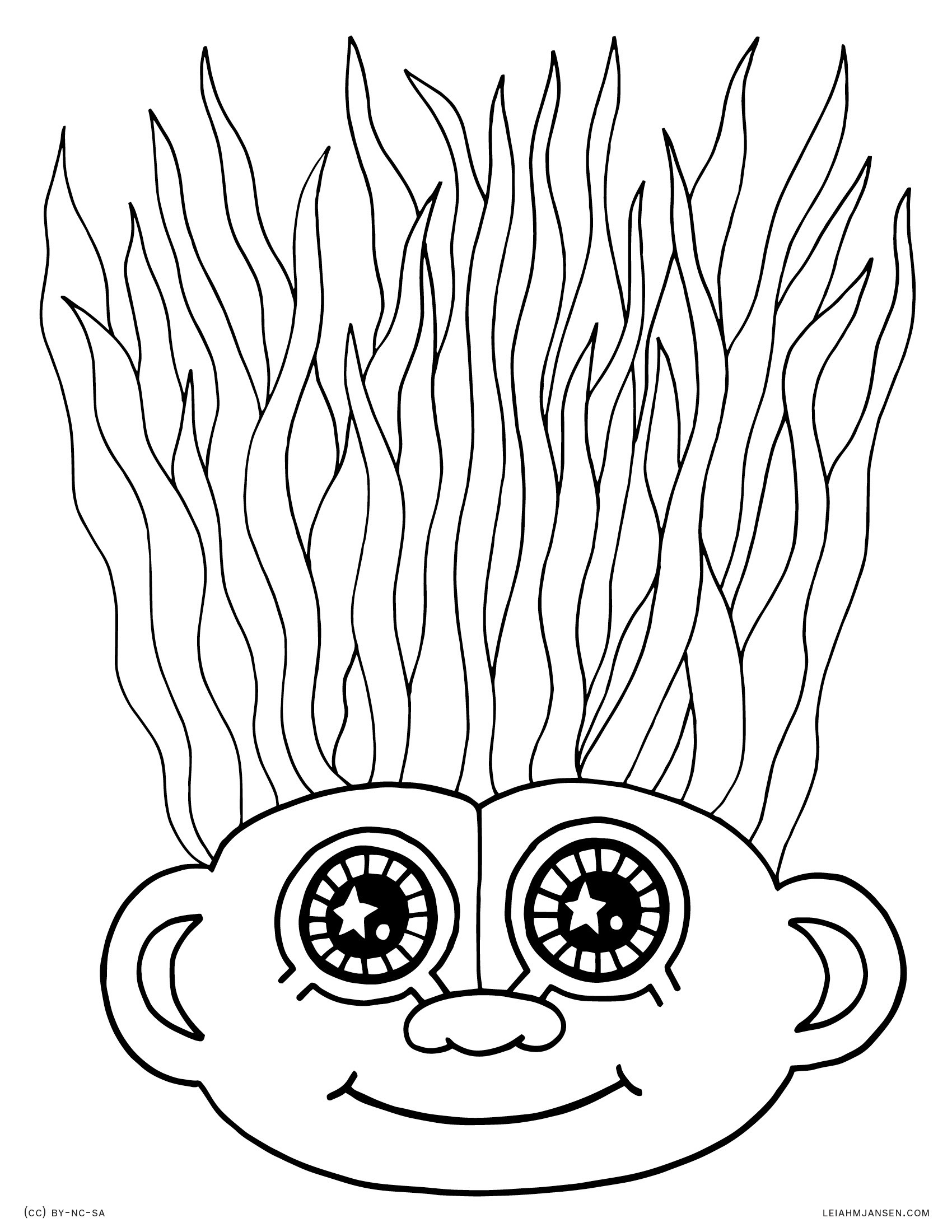 hair colouring pages 10 crazy hair adult coloring pages page 10 of 12 nerdy hair pages colouring