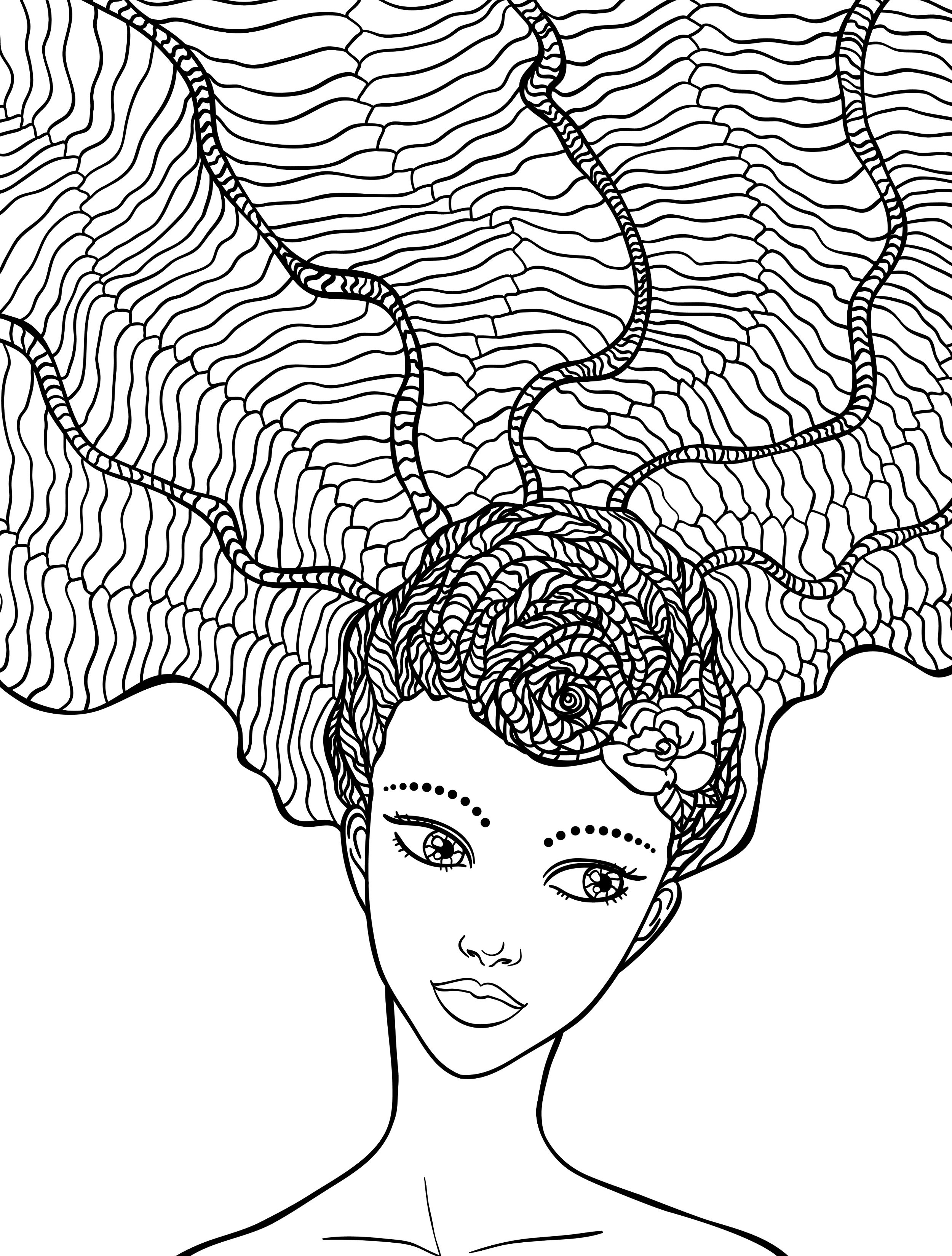 hair colouring pages black girl natural hair art google search coloring books colouring pages hair
