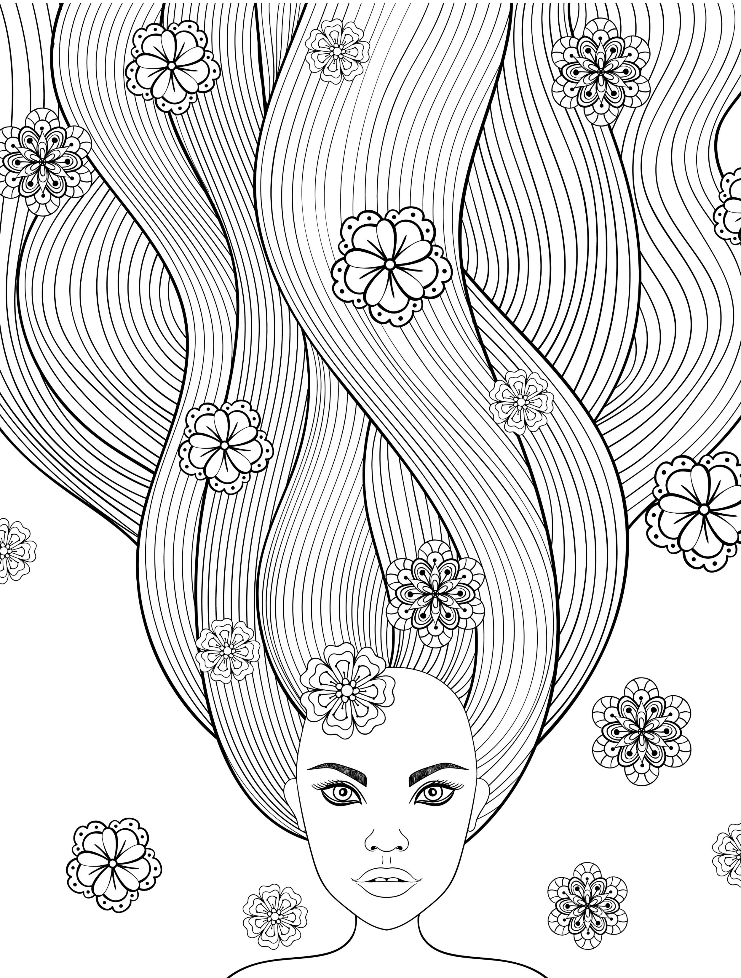 hair colouring pages pin by jackson r chamberlin on coloring ideas coloring pages hair colouring