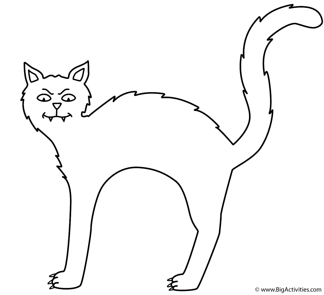 halloween black cat coloring pages black cat coloring page halloween pages black cat halloween coloring
