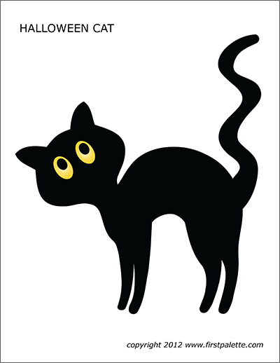 halloween black cat coloring pages free printable halloween cat coloring pages 007 black cat coloring halloween pages