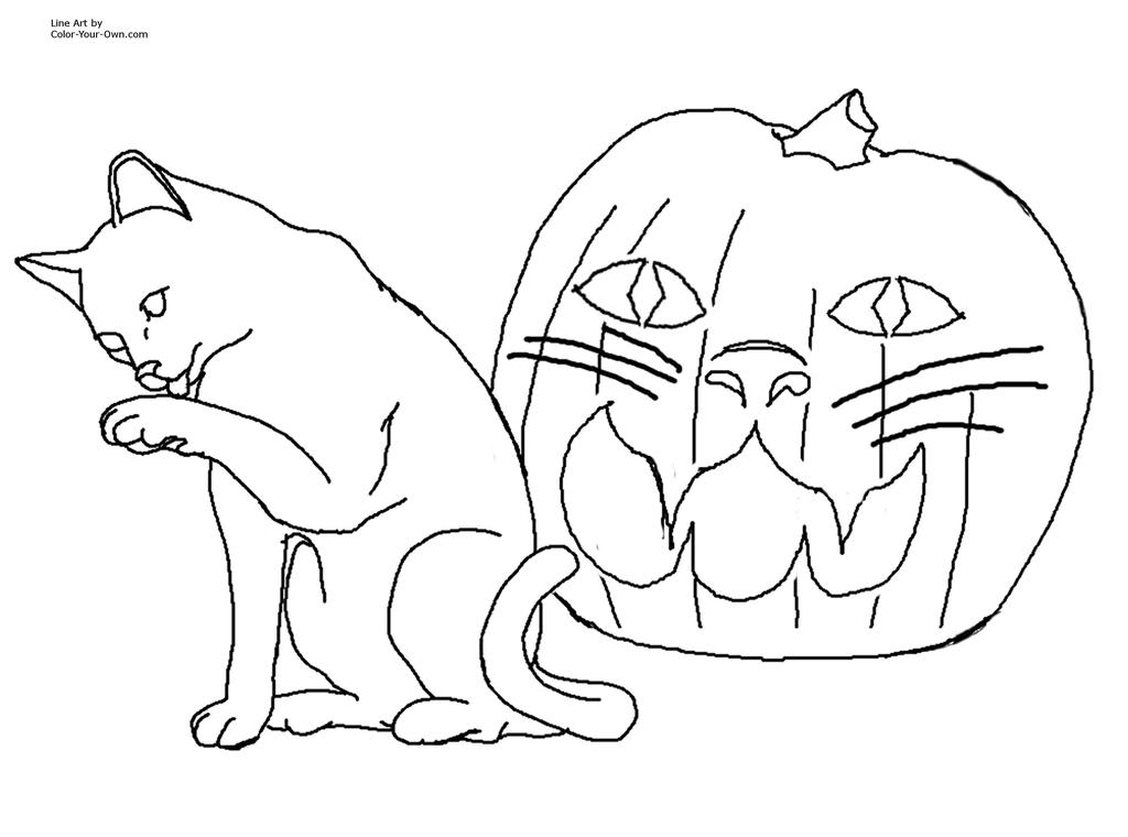 halloween black cat coloring pages scary halloween black cat coloring pages free printable halloween pages cat black coloring