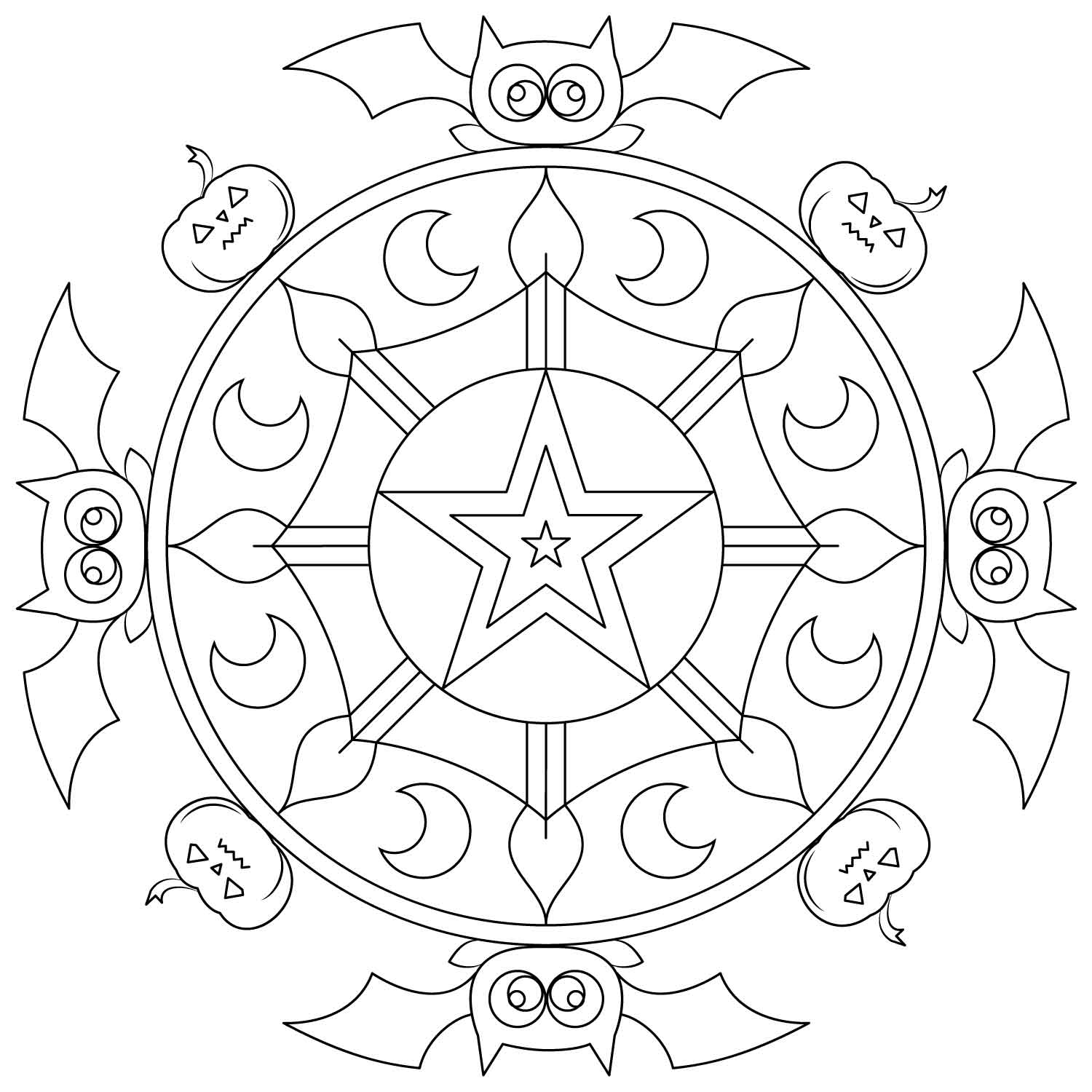 halloween mandala coloring pages halloween mandala s9e99 coloring pages printable mandala halloween coloring pages