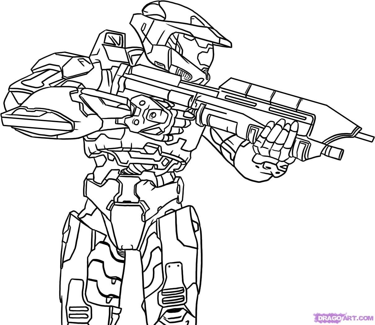 halo 5 coloring pages halo 5 dibujos para pintar dibujos para pintar 5 halo coloring pages