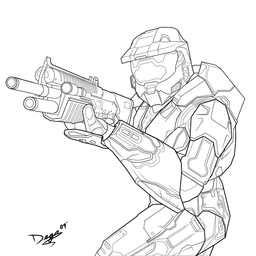halo 5 coloring pages halo reach para colorear imagui 5 coloring halo pages