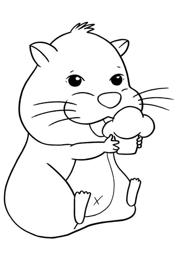 hamster coloring pages hamster coloring pages books 100 free and printable pages hamster coloring