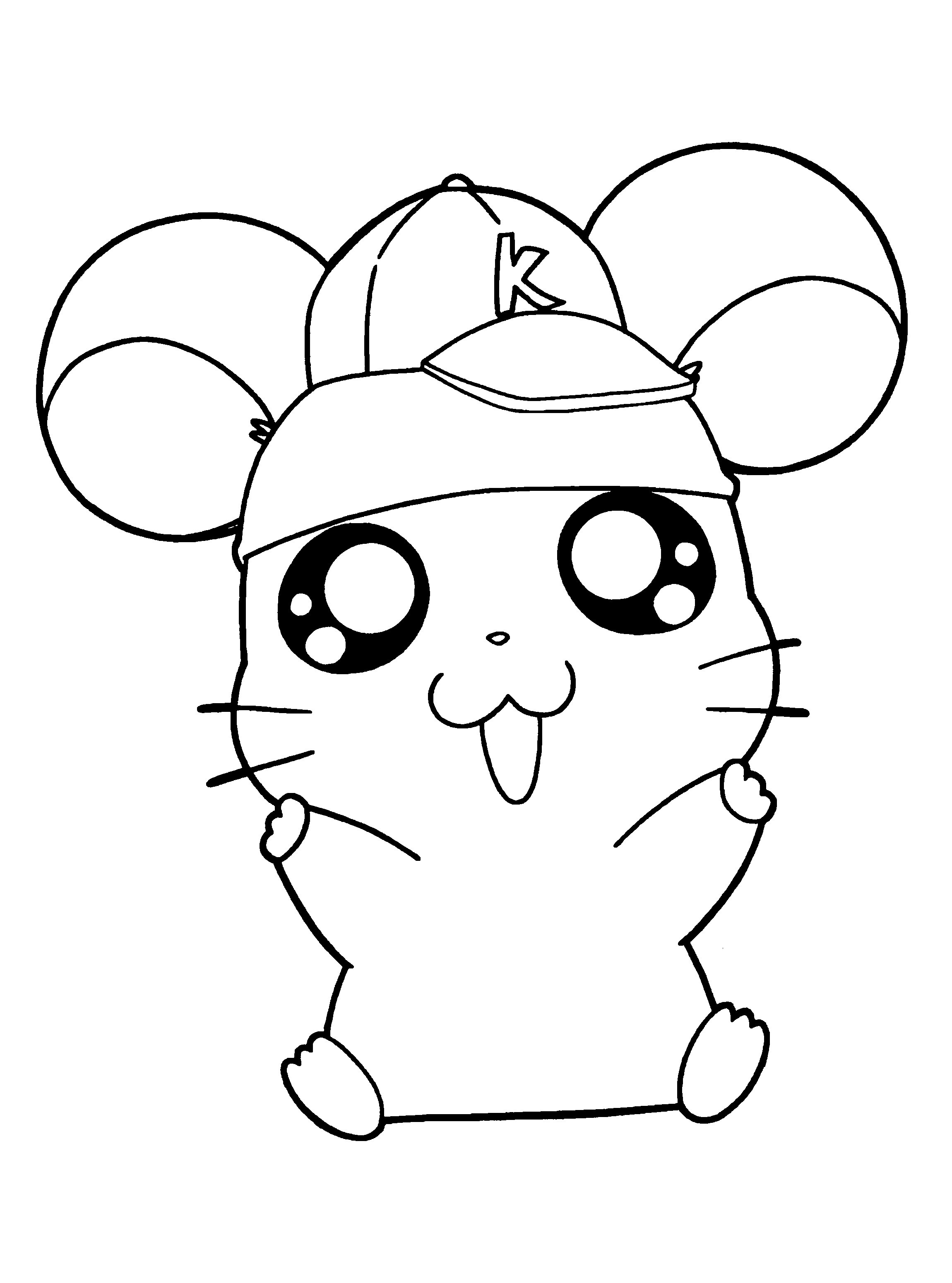 hamster coloring pages hamster coloring pages kidsuki pages coloring hamster
