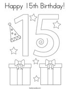 happy 13th birthday coloring pages birthday coloring pages page 2 twisty noodle happy pages birthday 13th coloring