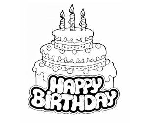 happy 13th birthday coloring pages birthday image birthday cakes color birthday image coloring birthday happy 13th pages
