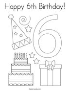 happy 13th birthday coloring pages happy 13th birthday coloring page twisty noodle 13th coloring pages birthday happy