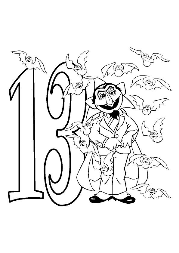 happy 13th birthday coloring pages julycolouringpage back to school ideas spring 13th pages coloring birthday happy