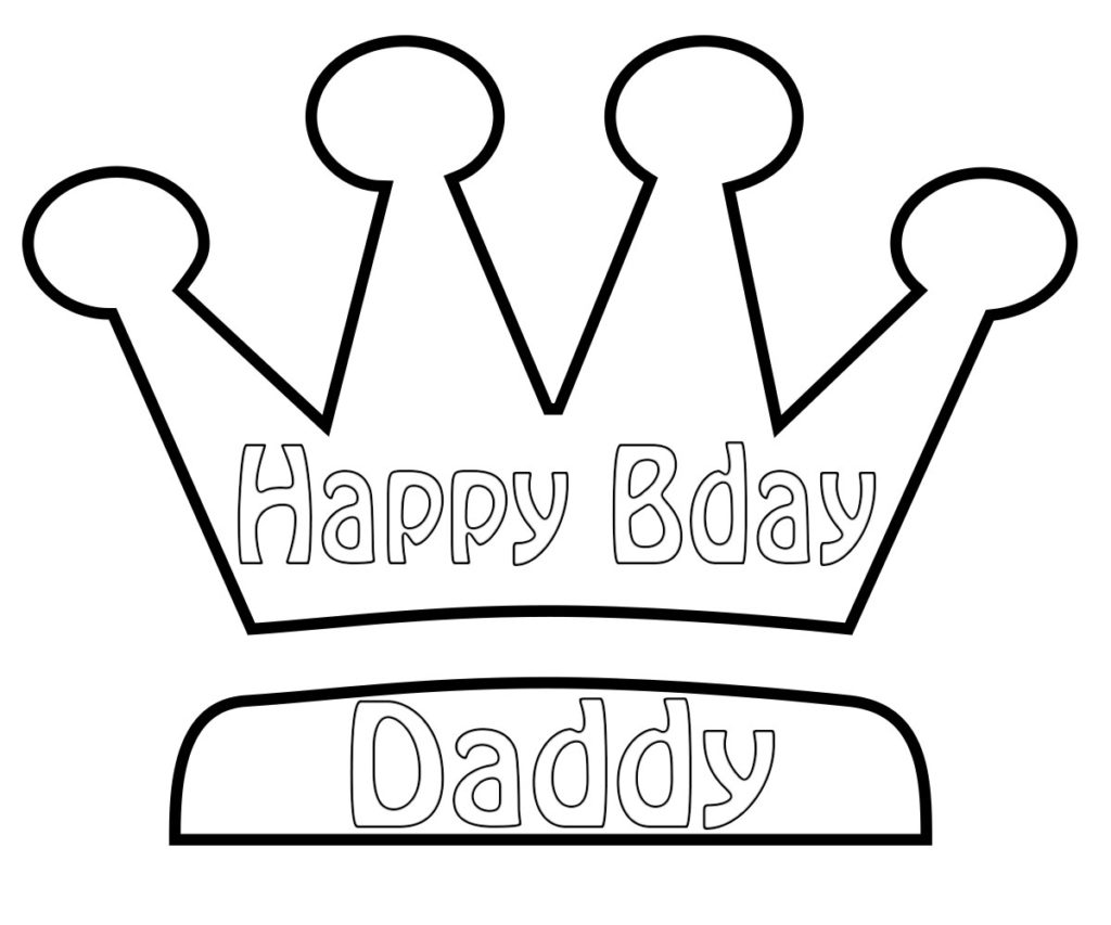 happy birthday colouring pages for dad happy birthday colouring pages for dad happy dad birthday for pages colouring