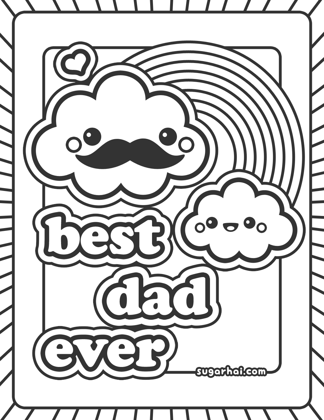 happy birthday colouring pages for dad happy birthday daddy coloring coloring page happy dad pages for colouring birthday