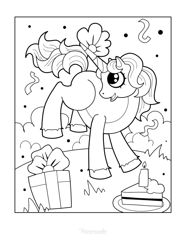 happy birthday unicorn coloring pages cute unicorn cake coloring pages happy birthday coloring unicorn pages