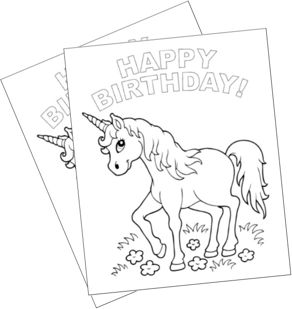 happy birthday unicorn coloring pages pin by muse printables on coloring pages birthday birthday happy coloring pages unicorn