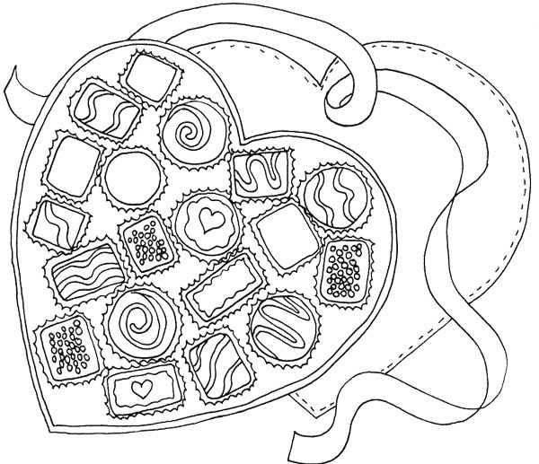 heart cake coloring pages this cupcake image with little hearts is perfect for pages coloring heart cake