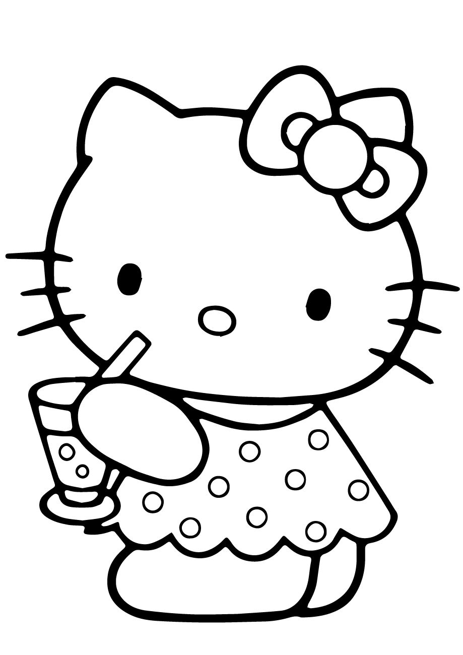 hello kitty coloring pages free 40 hello kitty pictures which are pretty slodive free coloring pages hello kitty