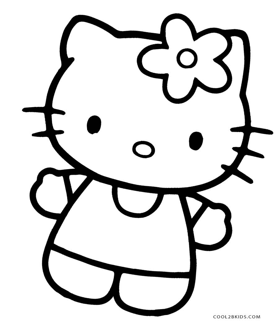 hello kitty coloring pages free free printable hello kitty coloring pages for pages coloring pages kitty free hello