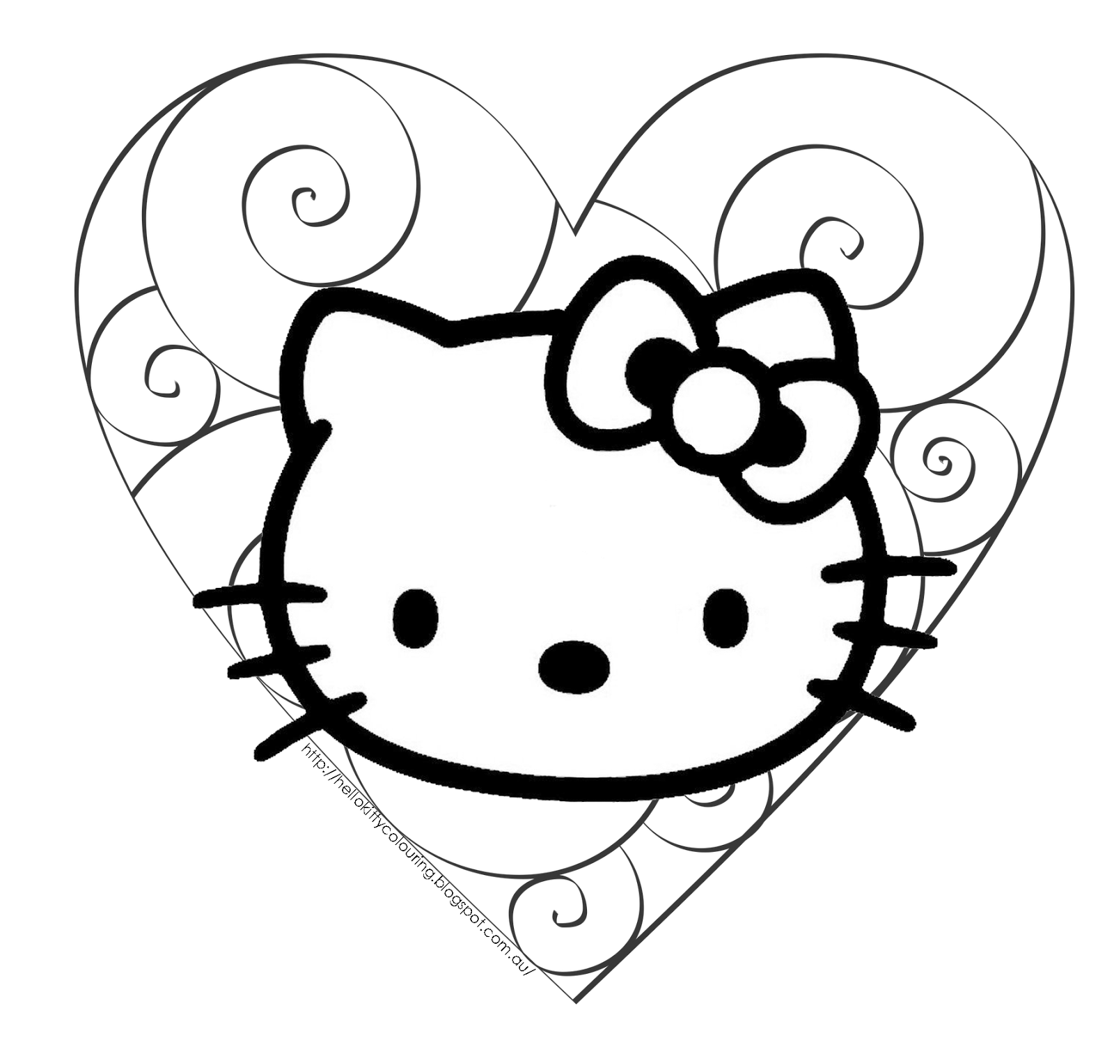 hello kitty coloring pages free free printable hello kitty coloring pages for pages hello coloring kitty pages free