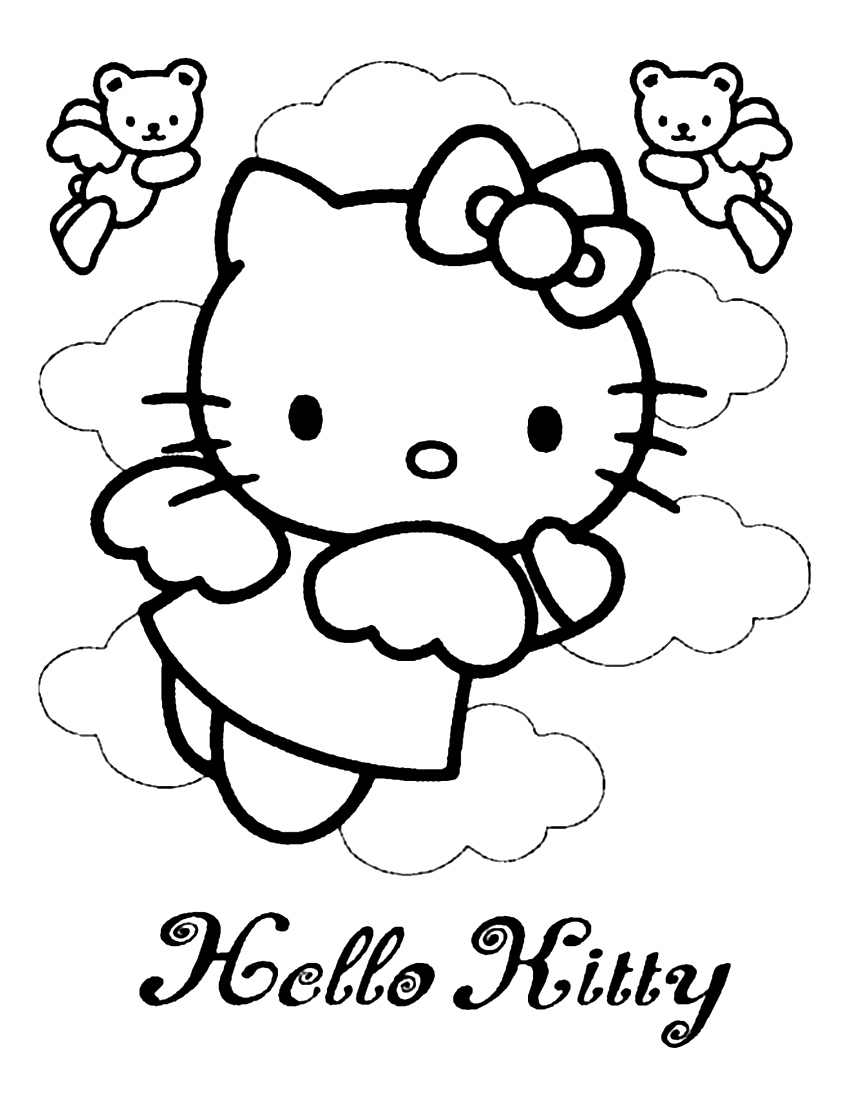hello kitty coloring pages free hello kitty coloring pages best gift ideas blog hello free coloring kitty pages