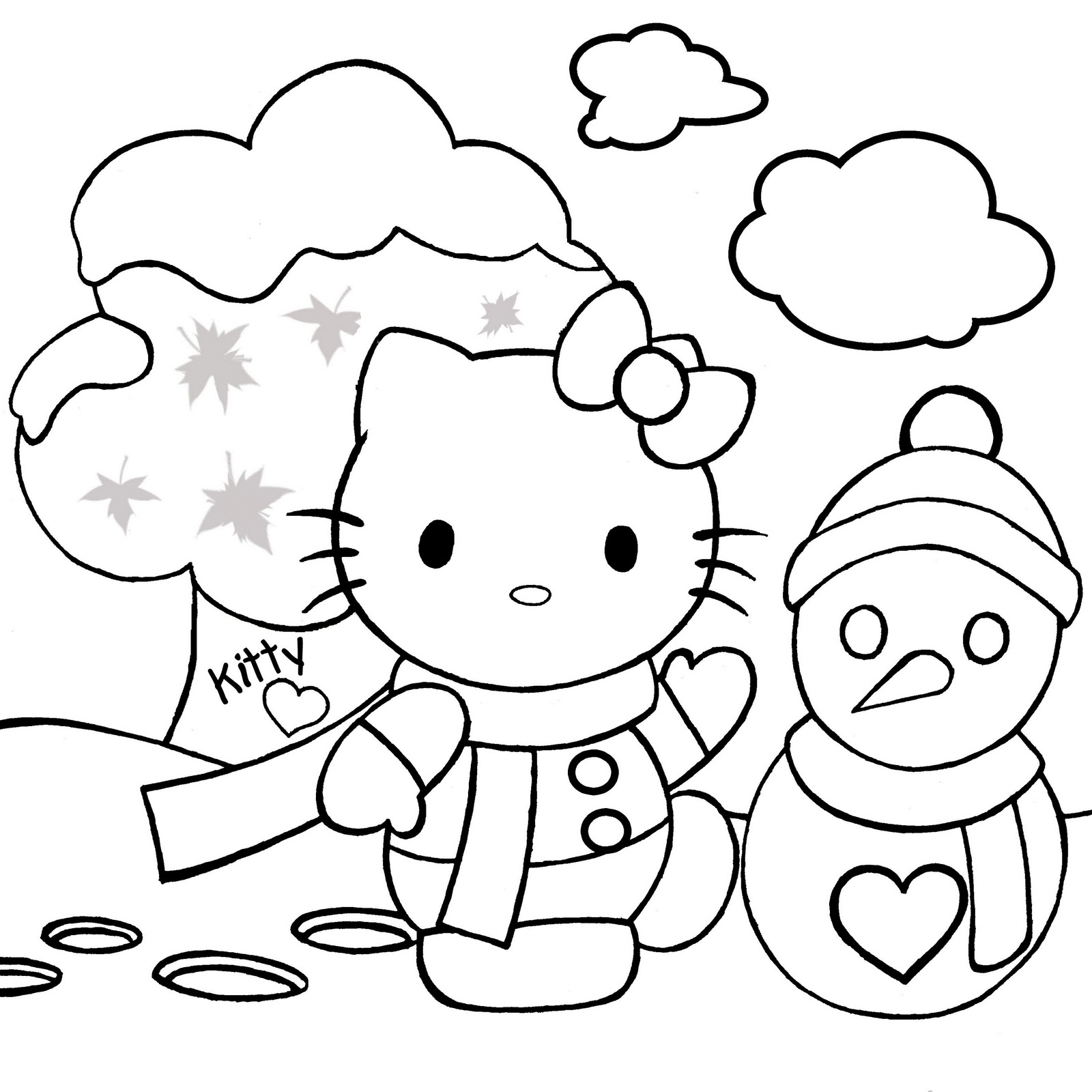 hello kitty coloring pages free hello kitty coloring pages free coloring hello pages kitty free