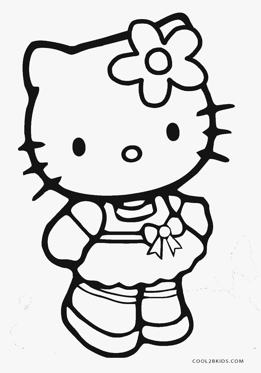 hello kitty coloring pages free kitty coloring pages free download on clipartmag hello pages free kitty coloring