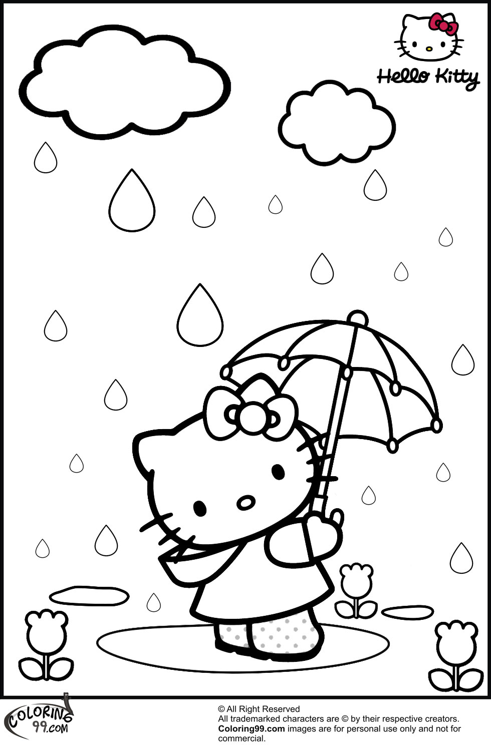hello kitty coloring pages free summer coloring pages for kids print them all for free hello kitty free pages coloring