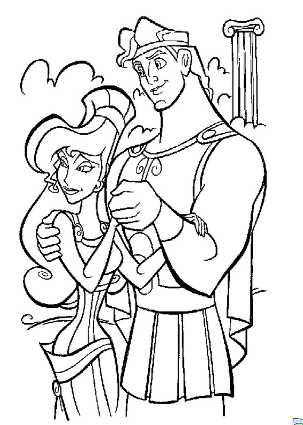 hercules coloring pages free printable hercules coloring pages for kids coloring hercules pages
