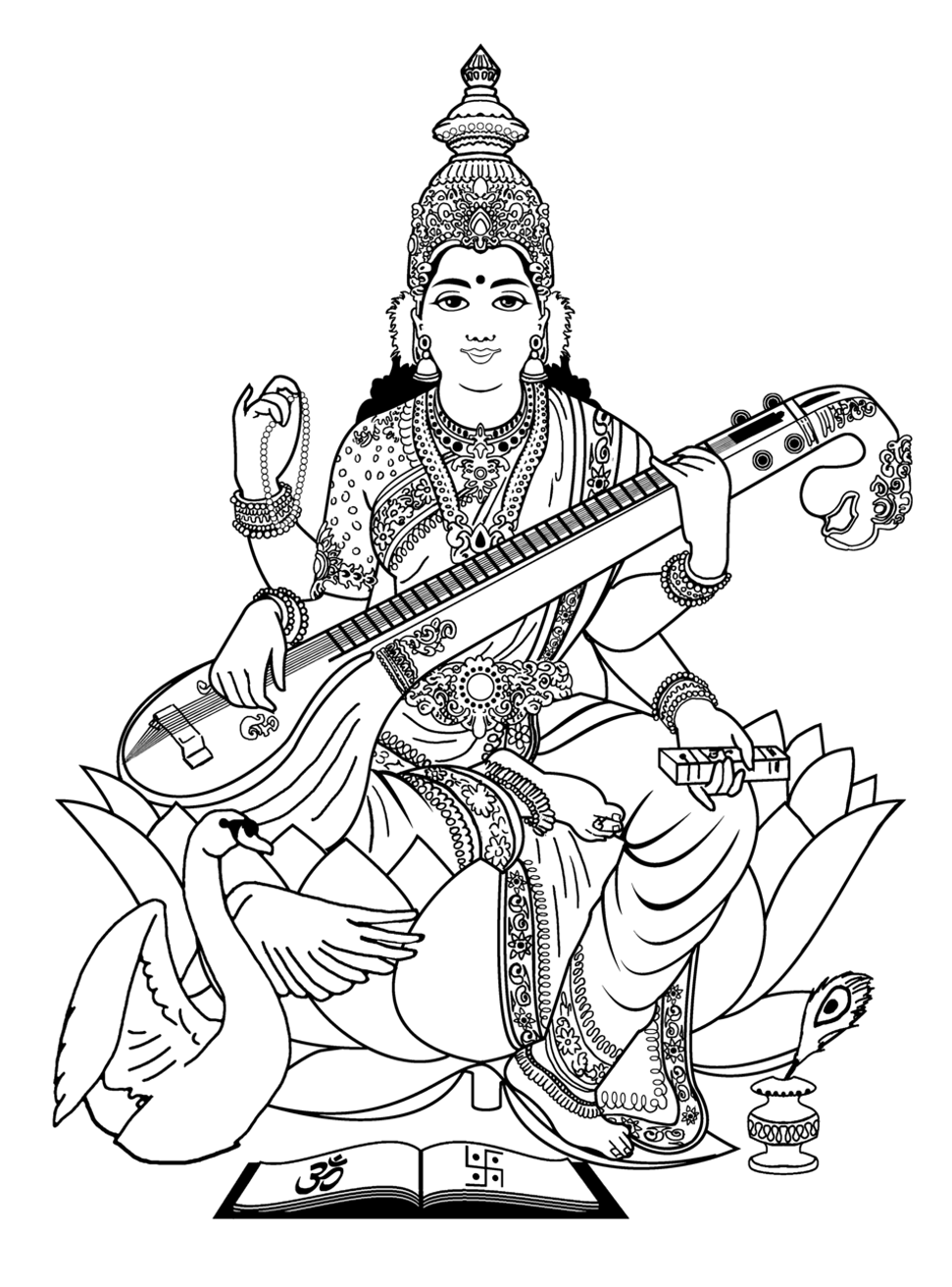 hindu colouring pages brahma coloring page get coloring pages hindu pages colouring