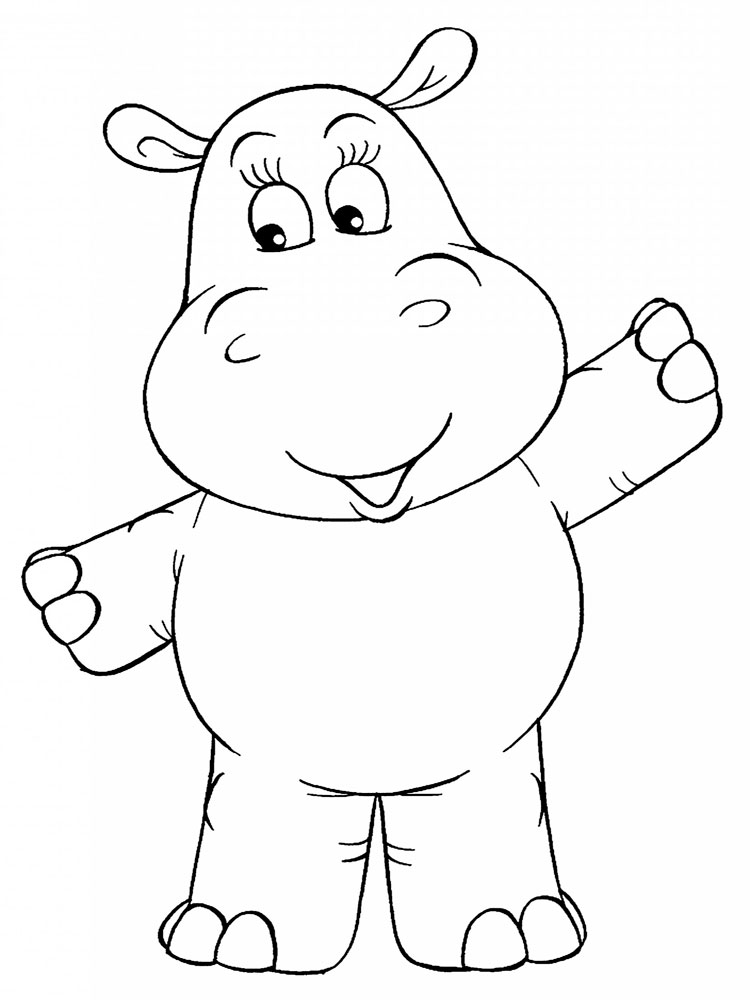 hippo coloring printable hippo coloring pages for kids cool2bkids hippo coloring 1 1