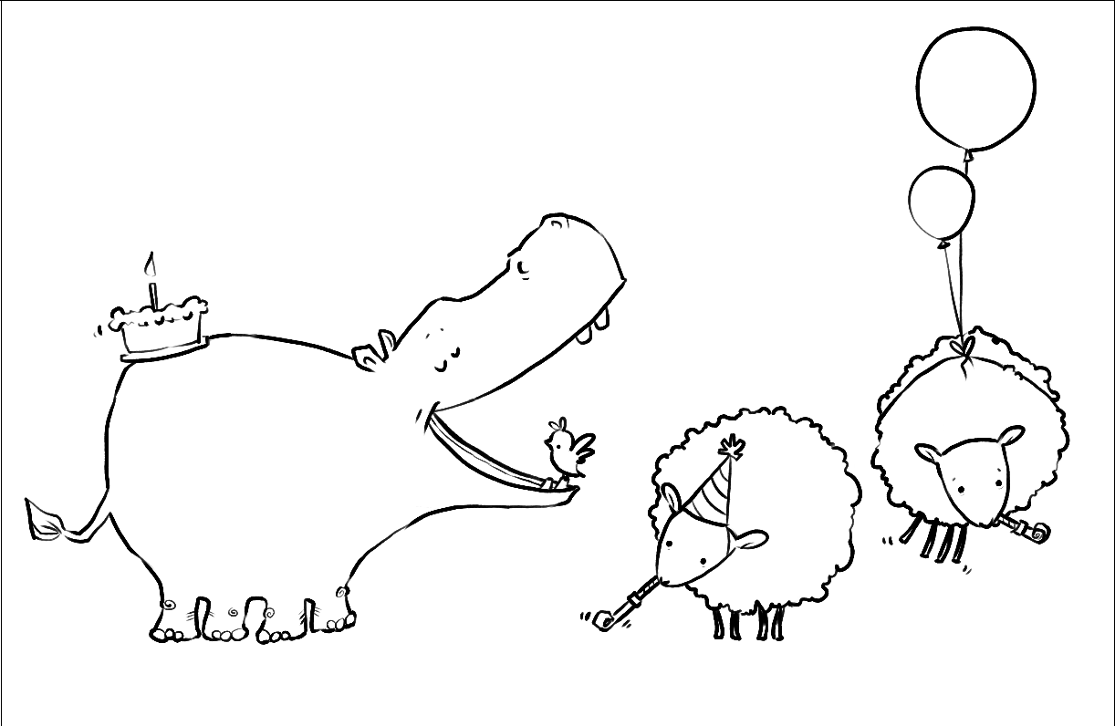 hippo outline drawing hippo clipart black and white google search cute hippo hippo drawing outline