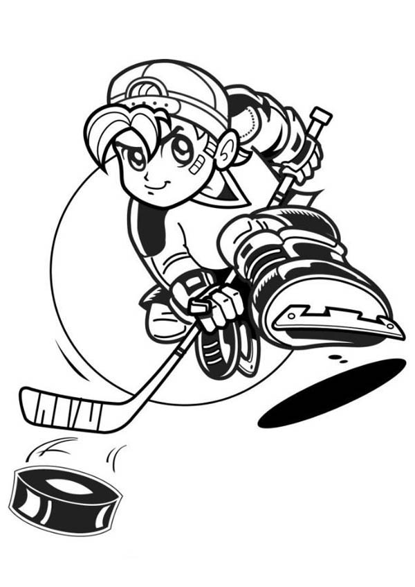 hockey players coloring pages hockey player with hat coloring page netart players coloring pages hockey