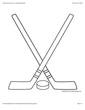 hockey stick coloring page 28 best images about winter on pinterest snowflakes coloring page stick hockey